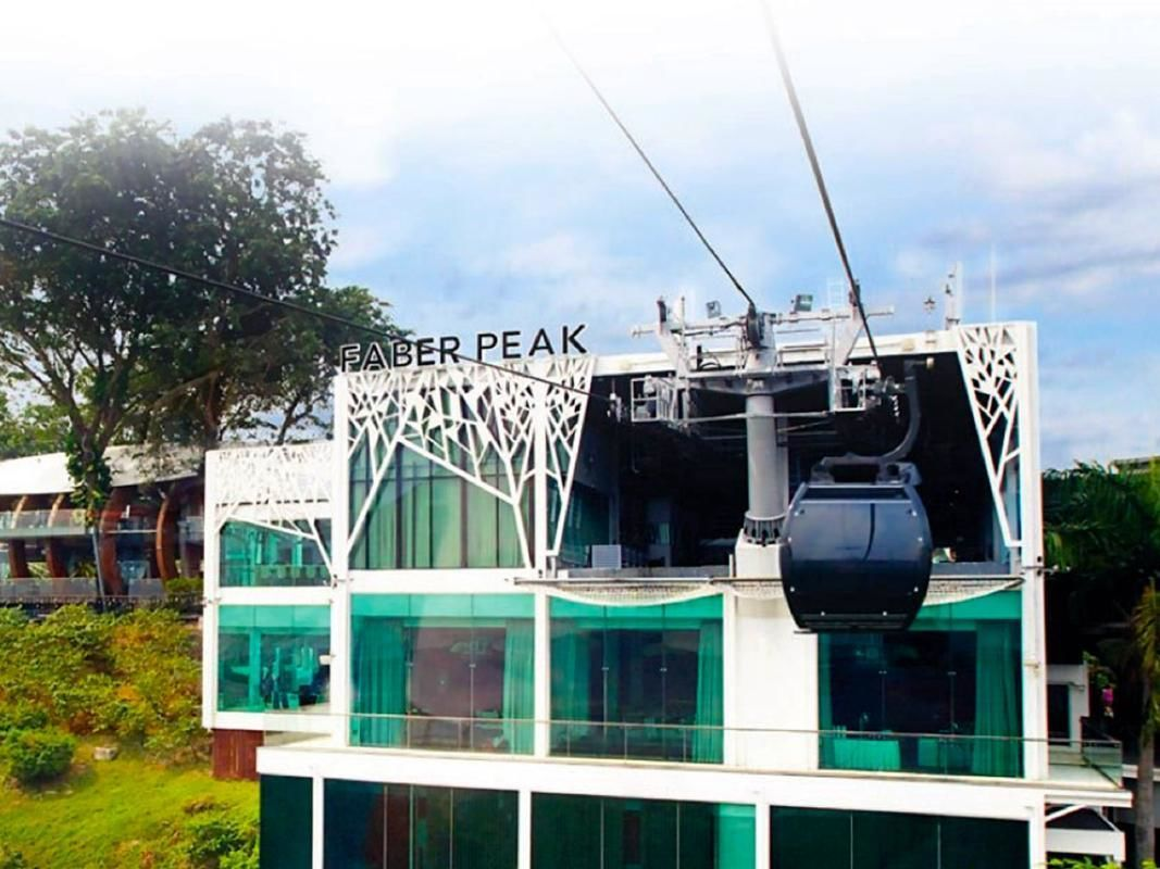 Cable Car Sky Dining For Two in Singapore