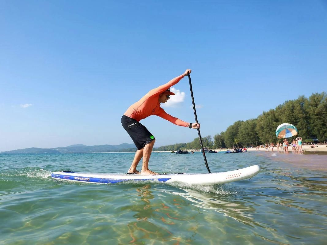 Relaxing Introductory Stand Up Paddle Boarding Tour in Phuket