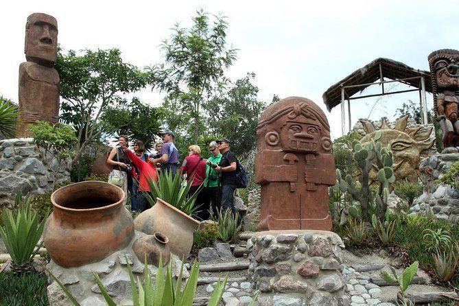 Mitad del Mundo Complex, Hummingbird´s Sanctuary and Hike in the Cloudforest