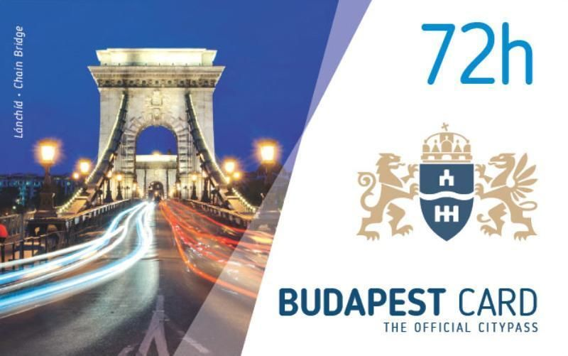 Budapest Card - The official city card for 24, 48, 72, 96 & 120 hours
