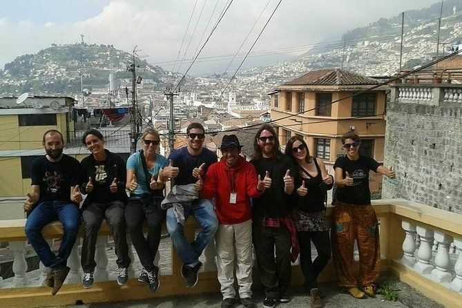 Local Food&Fruit Market,Colonial Churches,Quito Discovery Half-Day WalkingTour,