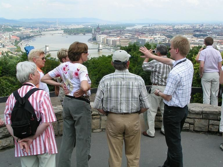 Four-hour private city tour through Budapest