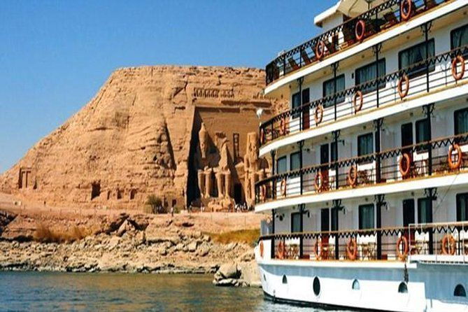 3 Night 4 Days Nile River Cruise from Luxor to Aswan with Private Tour Guide