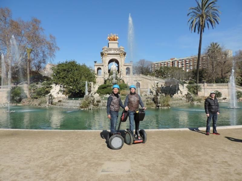 Segway Group Tour - Two hours Segway in Barcelona