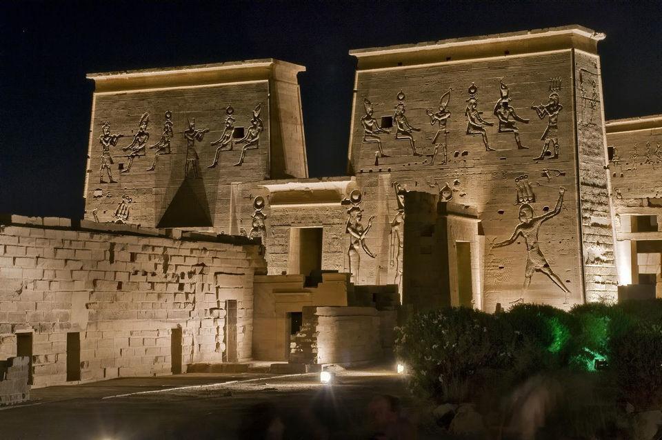 Aswan Sound Light Show: Philae Temple