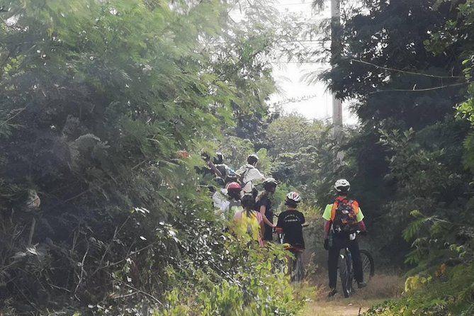 Cycling in rural Kanchanaburi area