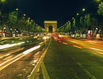 City tour of Paris by night plus boat trip across the Seine