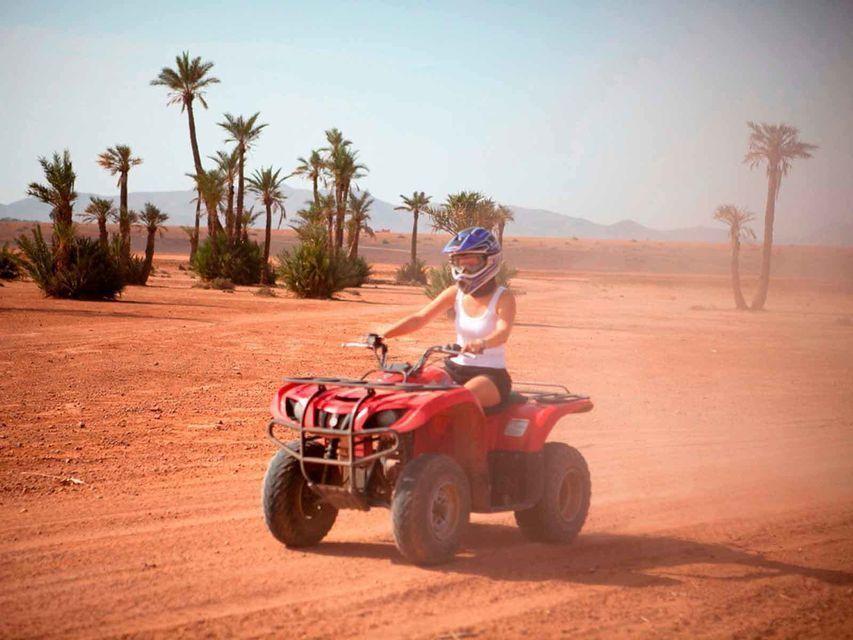 From Hurghada: 3-Hour Desert Safari by Quad Bike