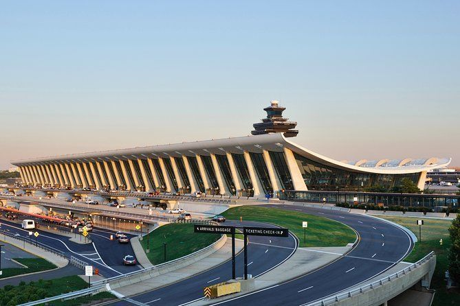 Private arrival OR departure transfer in Washington (hotel OR airport pick-up)