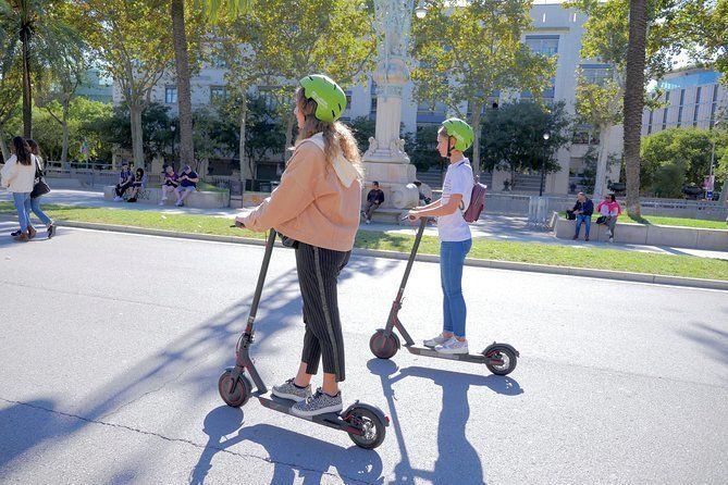 Welcome To Barcelona Electric Scooter Tour