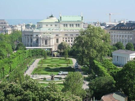 A first flirt with the highlights of Vienna city