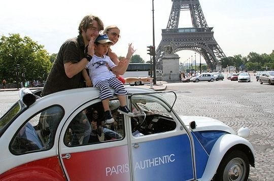 Citroen 2CV romantic tour