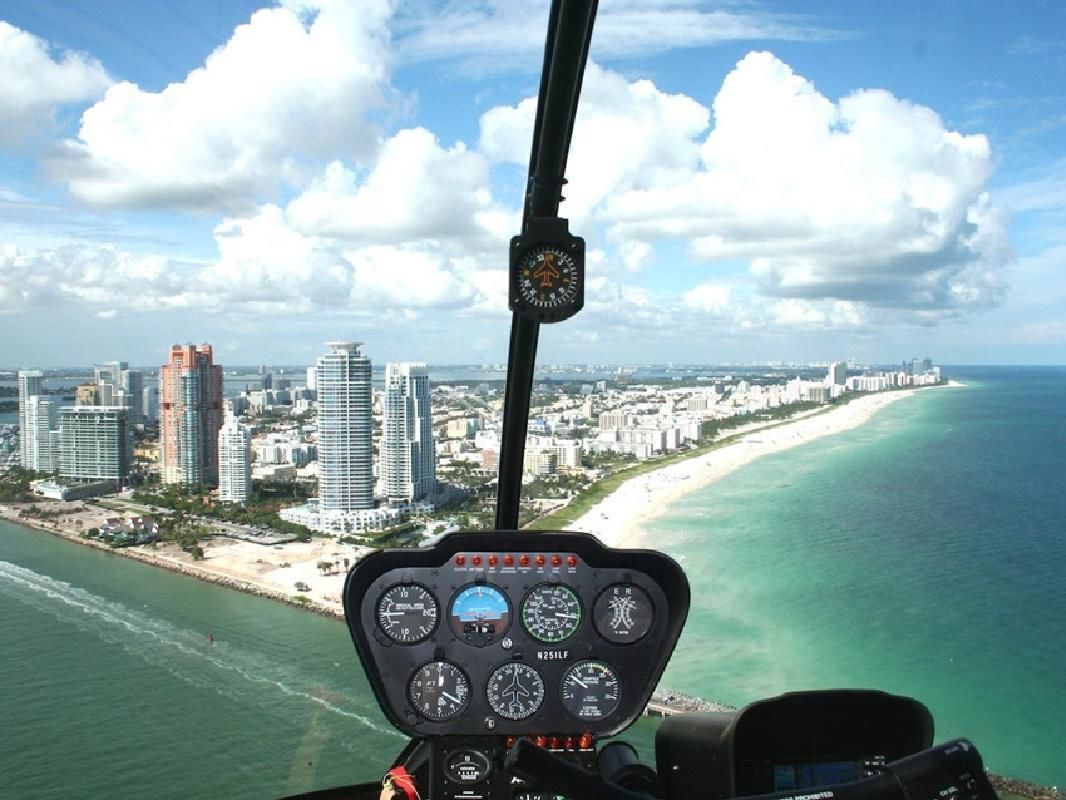 Deluxe Private Helicopter Flight with Luxury Transportation