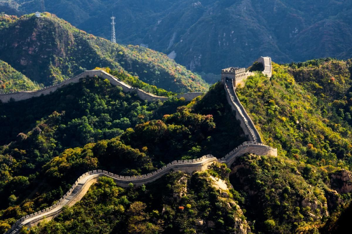 Great Wall of China Helicopter Ride and Badaling Section Guided Hike