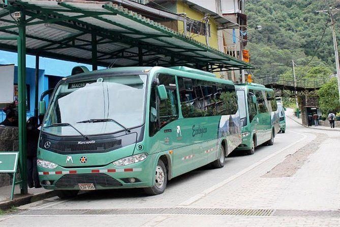 Bus tickets to Machupicchu Round-trip