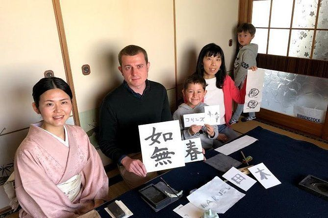 Learn Calligraphy in a traditional Japanese Inn