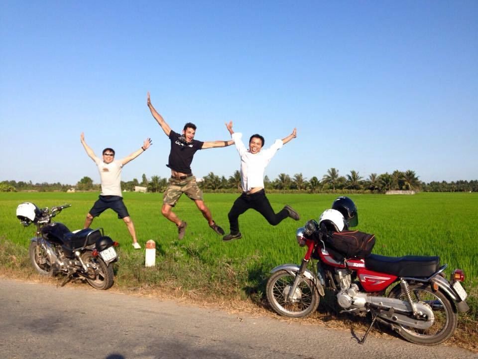 Motorcycling 1-Day Mekong Trip