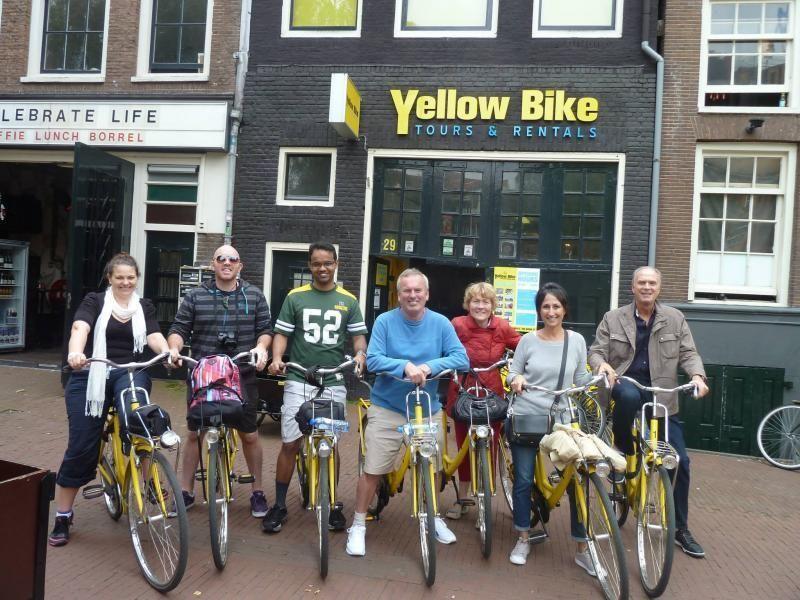Short Bicycle Tour through Amsterdam