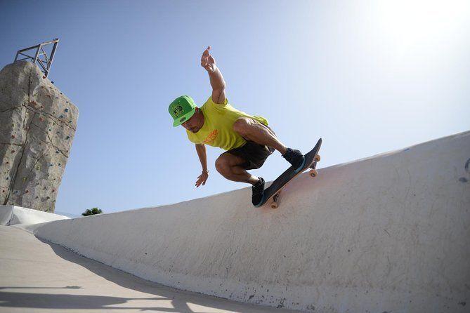 2-Hour Skateboard Course in Caleta de Fuste Fuerteventura