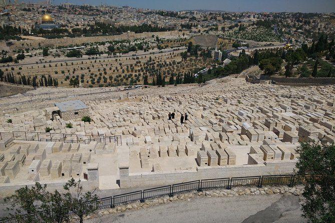 In Jesus' Footsteps: Mount of Olives Live Virtual Tour