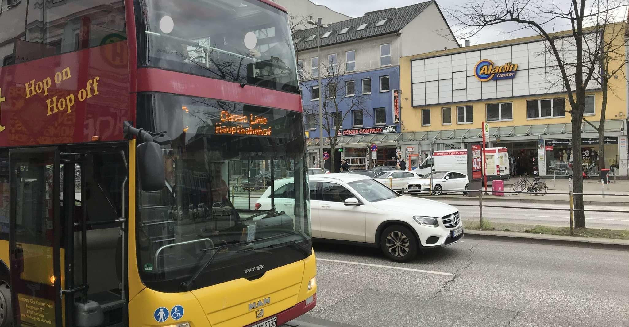 Hamburg: Hop-On/ Hop-Off Sightseeing Tour Classic Line