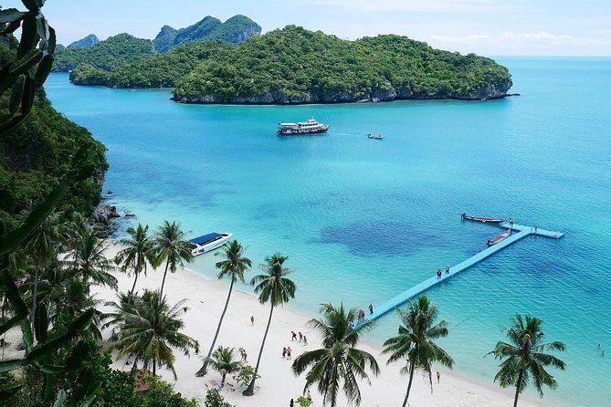 Ang Thong National Marine Park Speedboat Tour from Koh Phangan