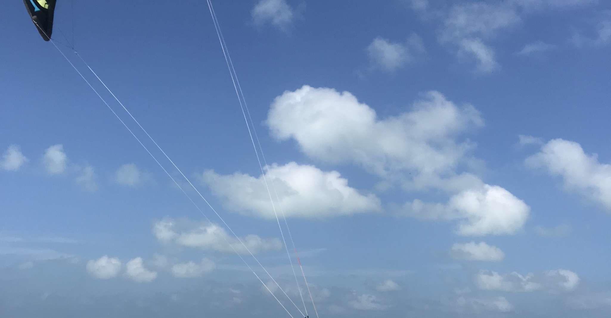 6-Hour Kiteboarding Lesson at El Cuyo Beach in Yucatan