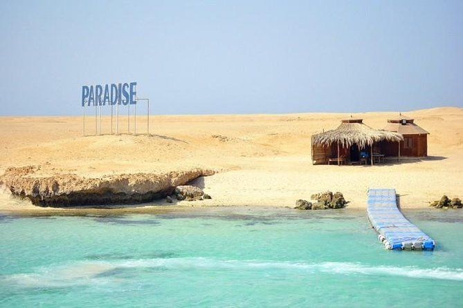 Paradise island excursion from Hurghada
