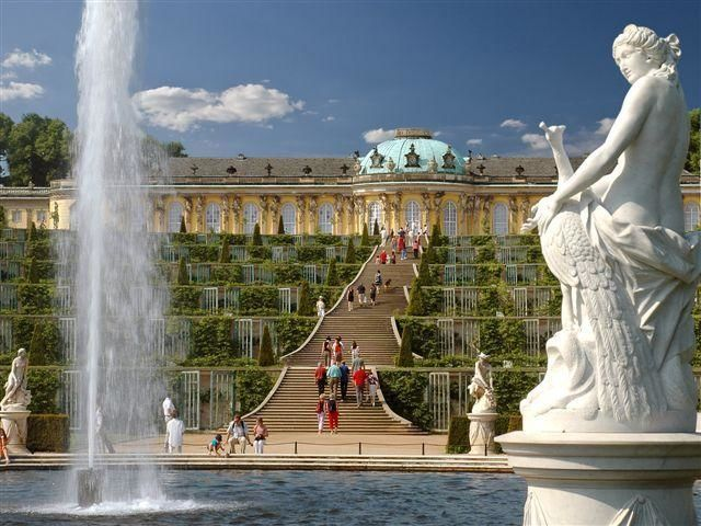 Excursion from Berlin to Potsdam with visit to Sanssouci Palace